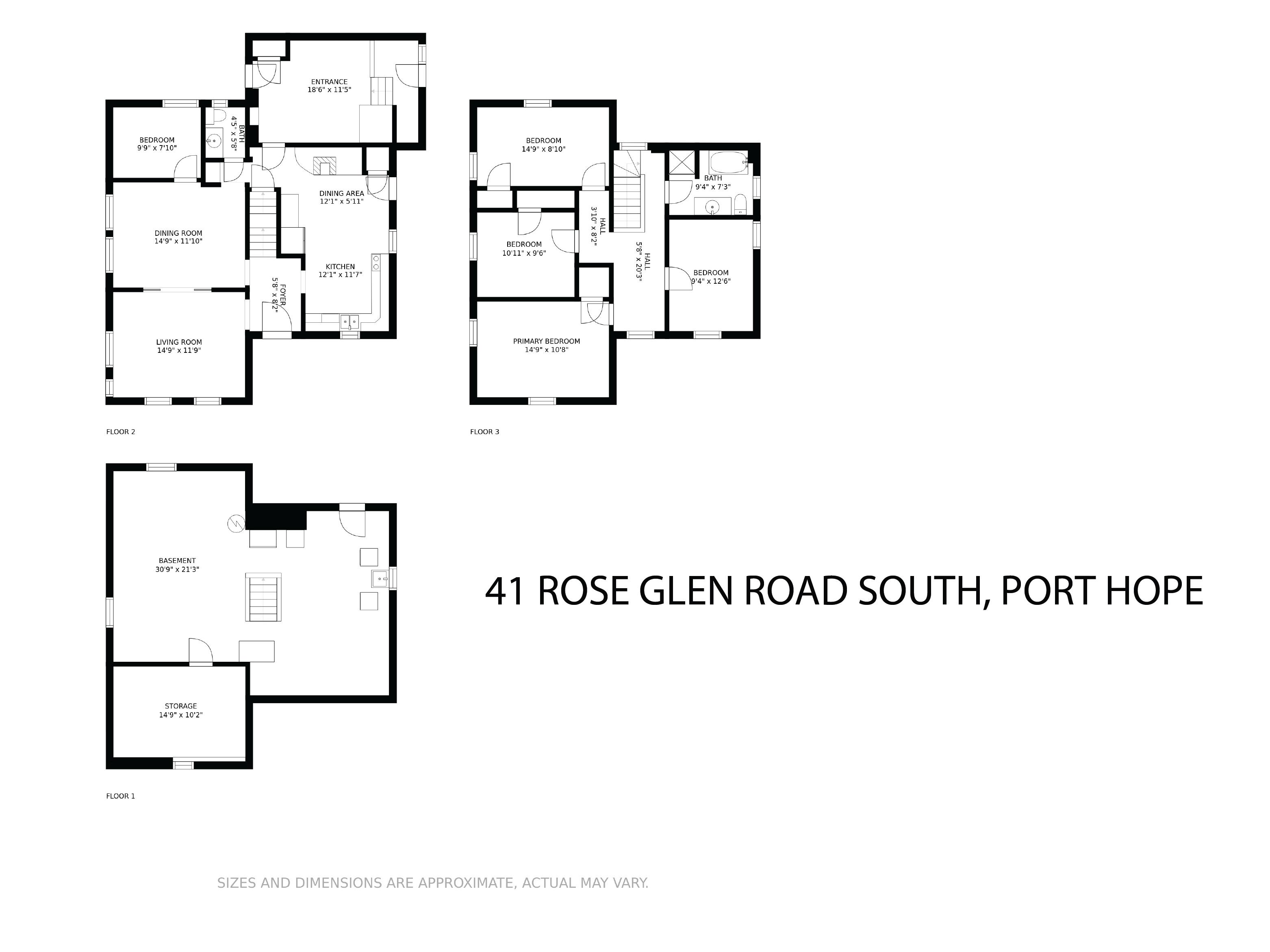41 Rose Glen Rd S floorplan