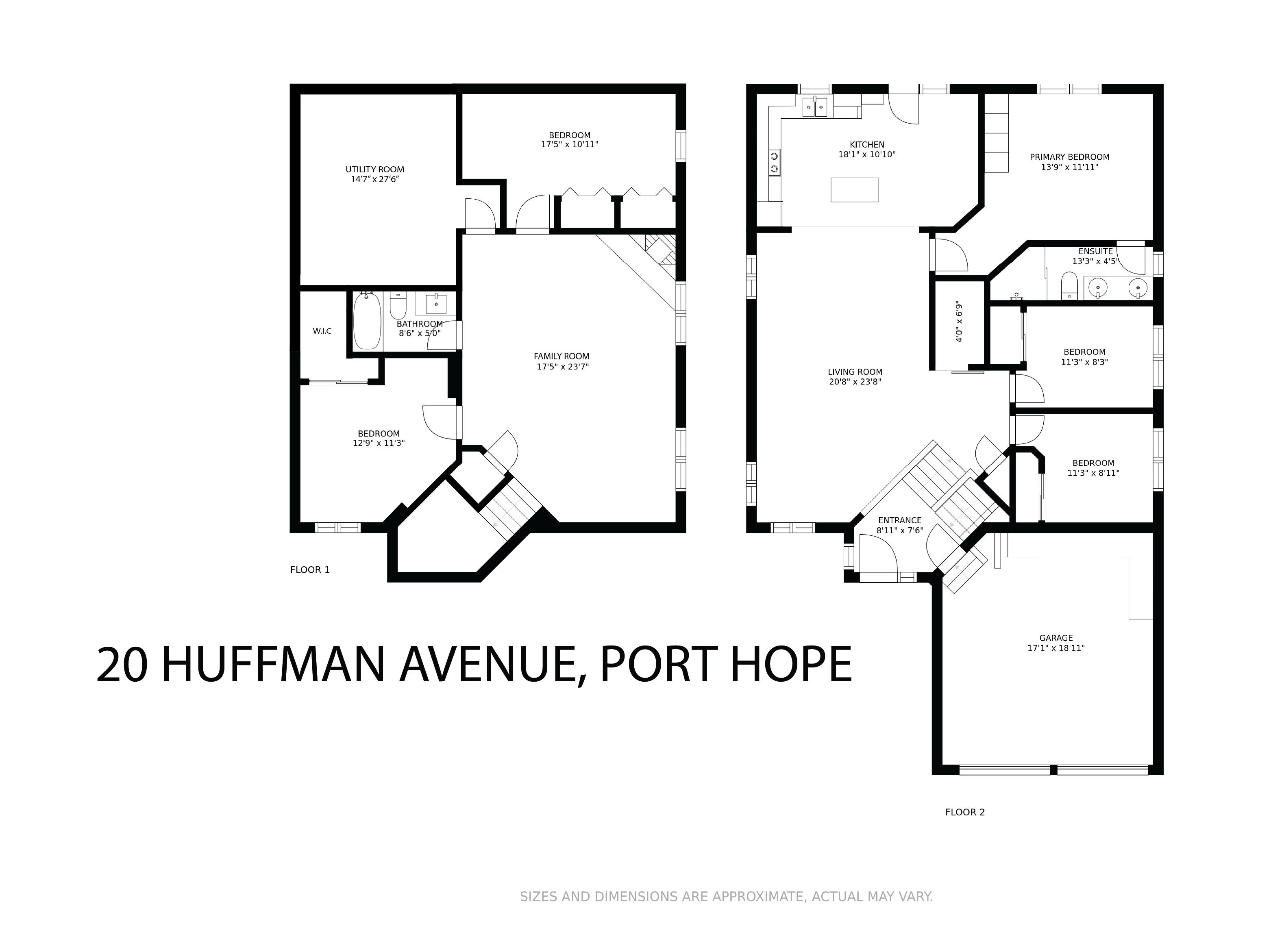 20 Huffman Avenue floorplan