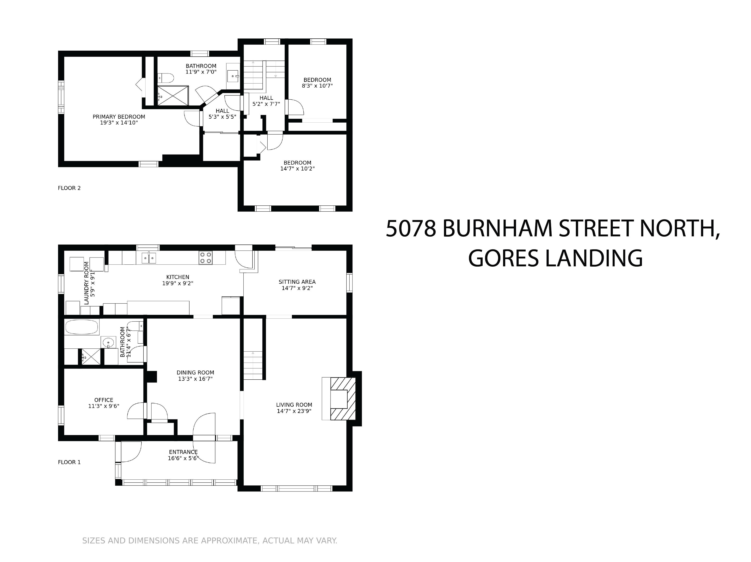 5078 Burnham Street N floorplan
