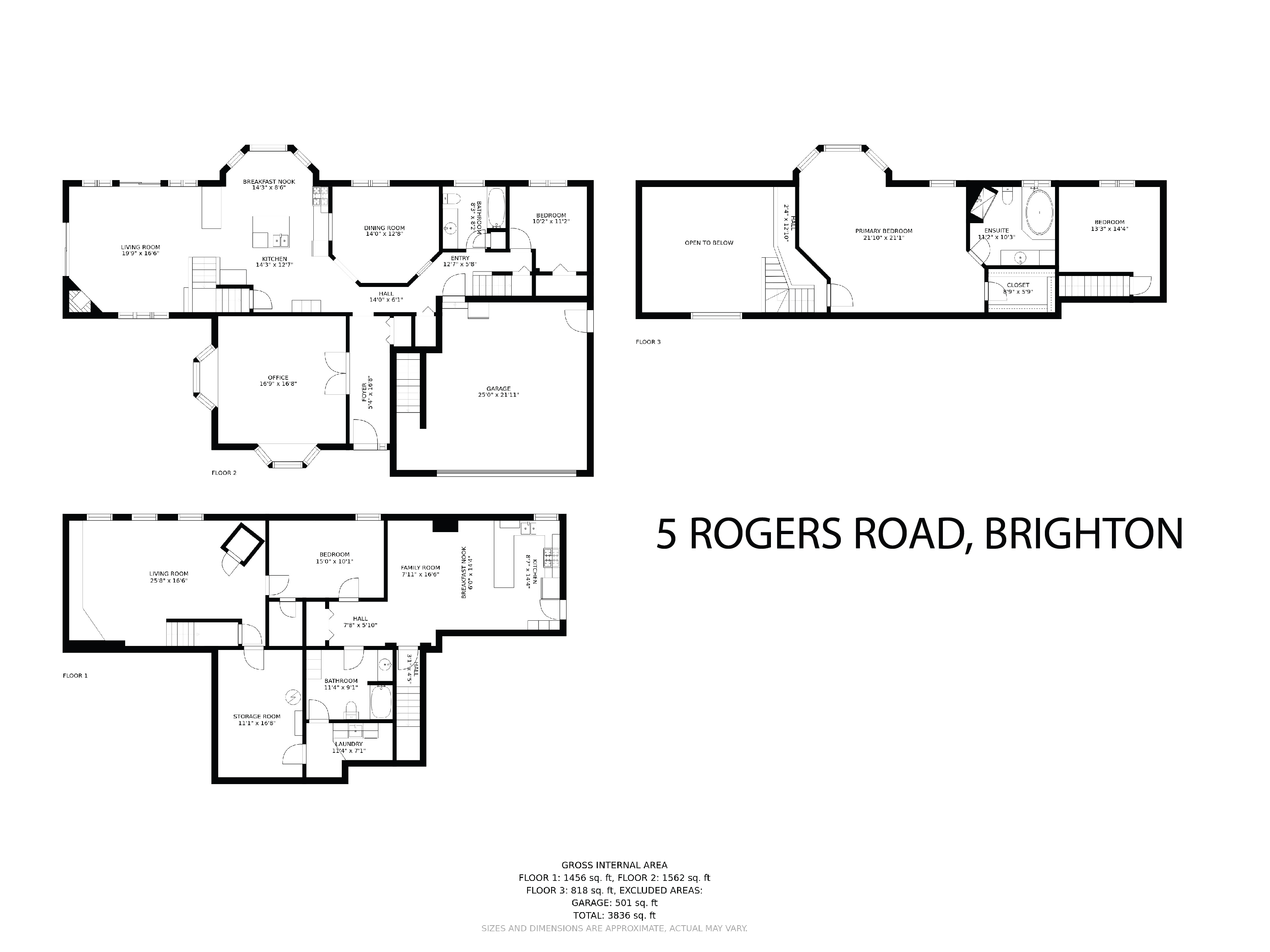 5 Rogers Road floorplan