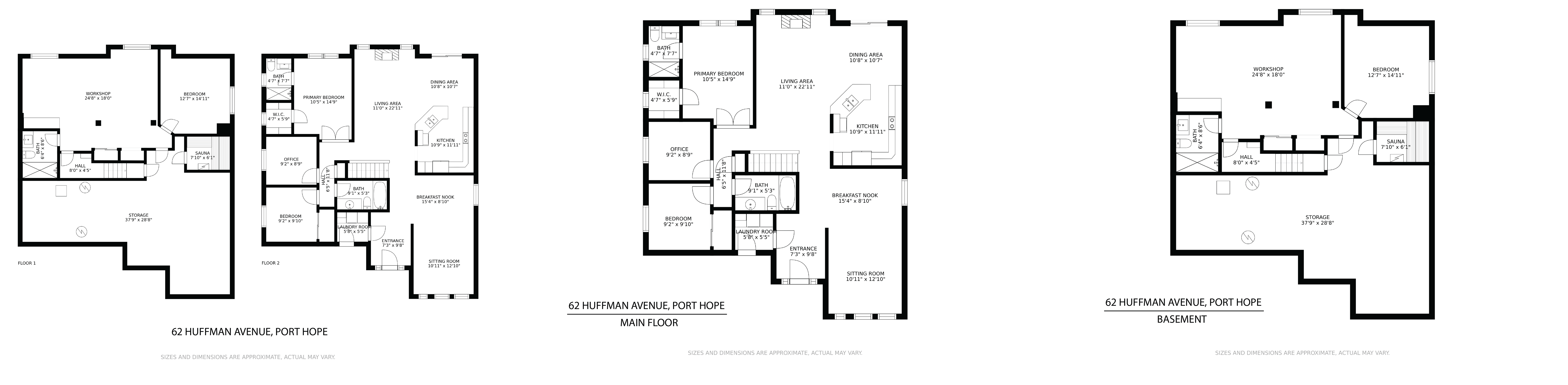 62 Huffman Avenue floorplan