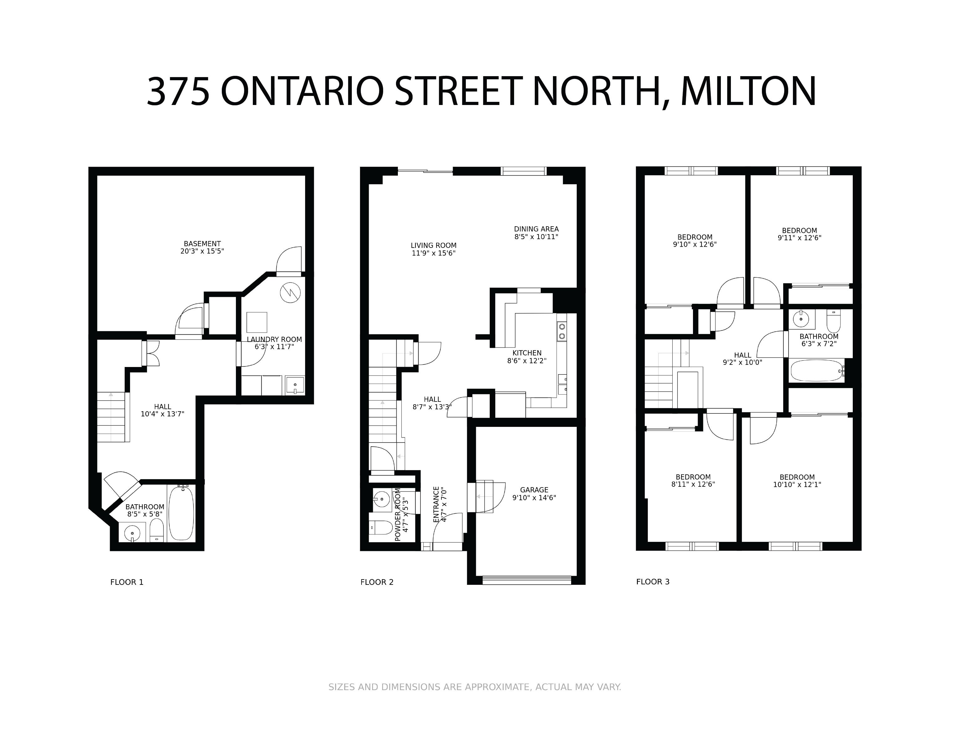 375 Ontario Street North floorplan
