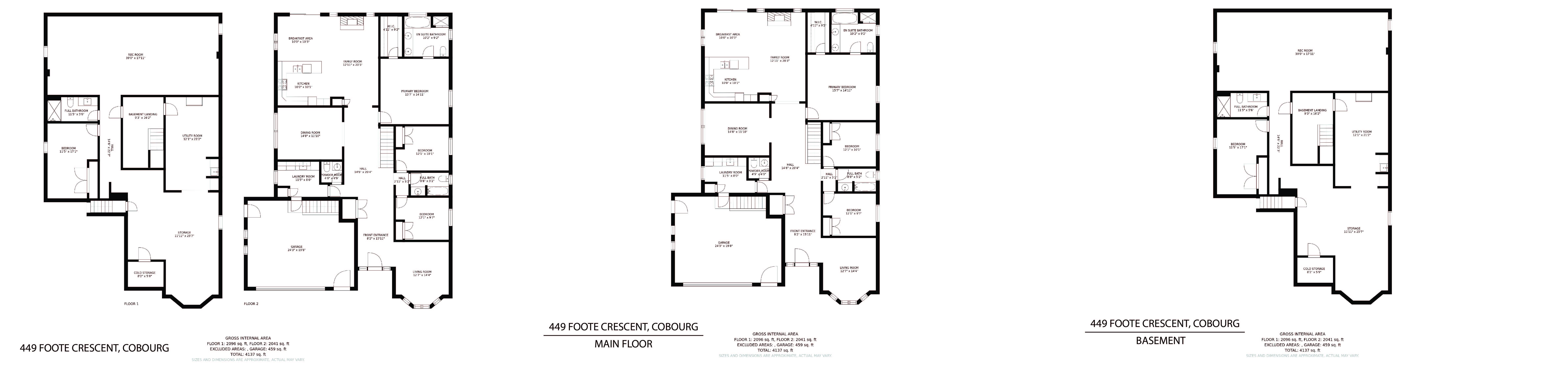 449 Foote Cres floorplan