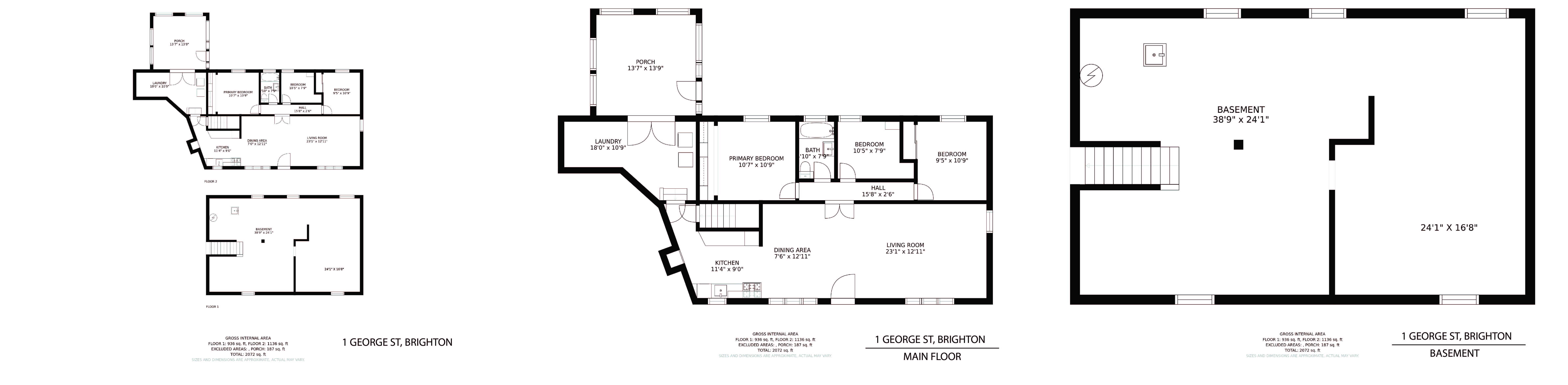 1 George Street floorplan