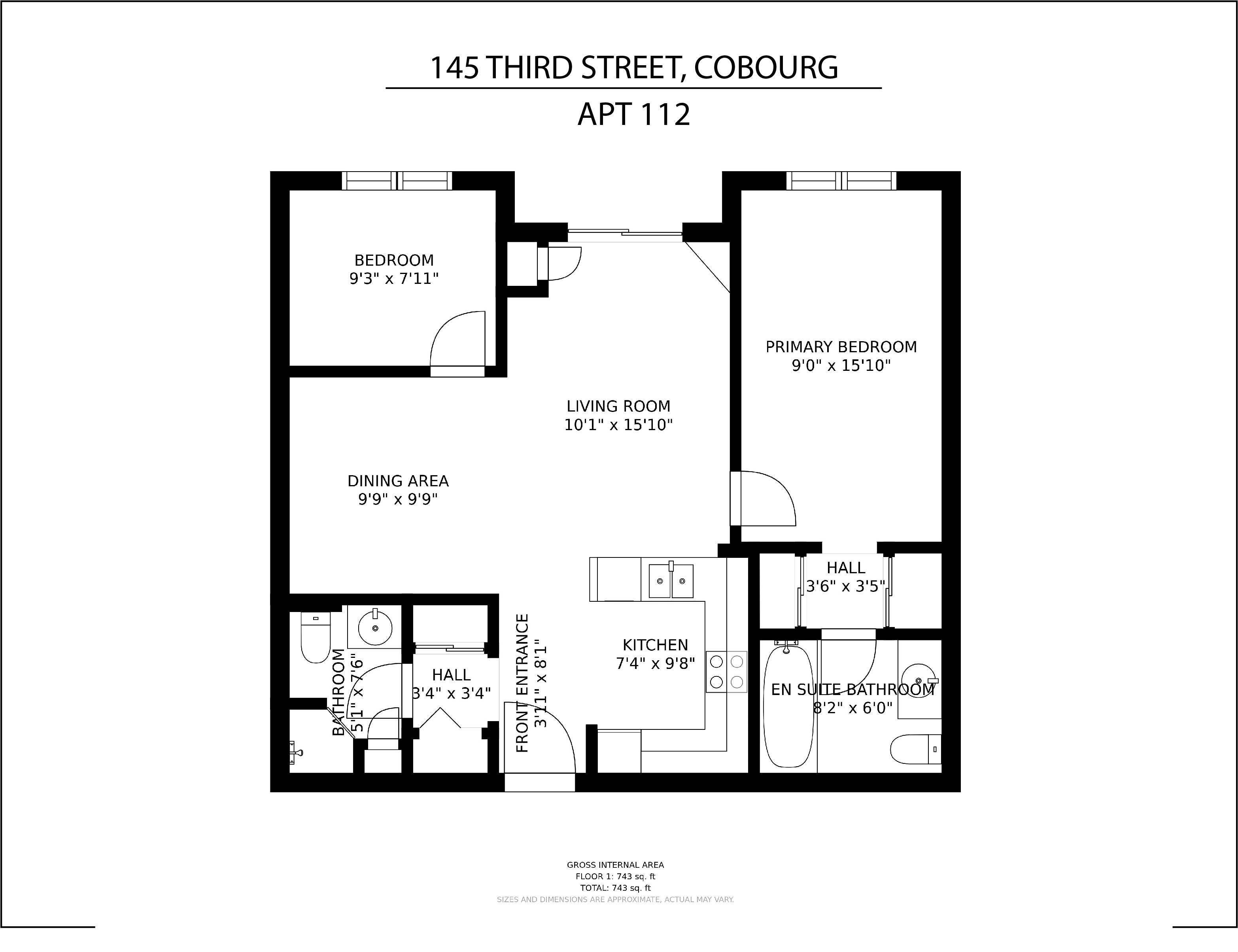 #112-145 Third Street floorplan