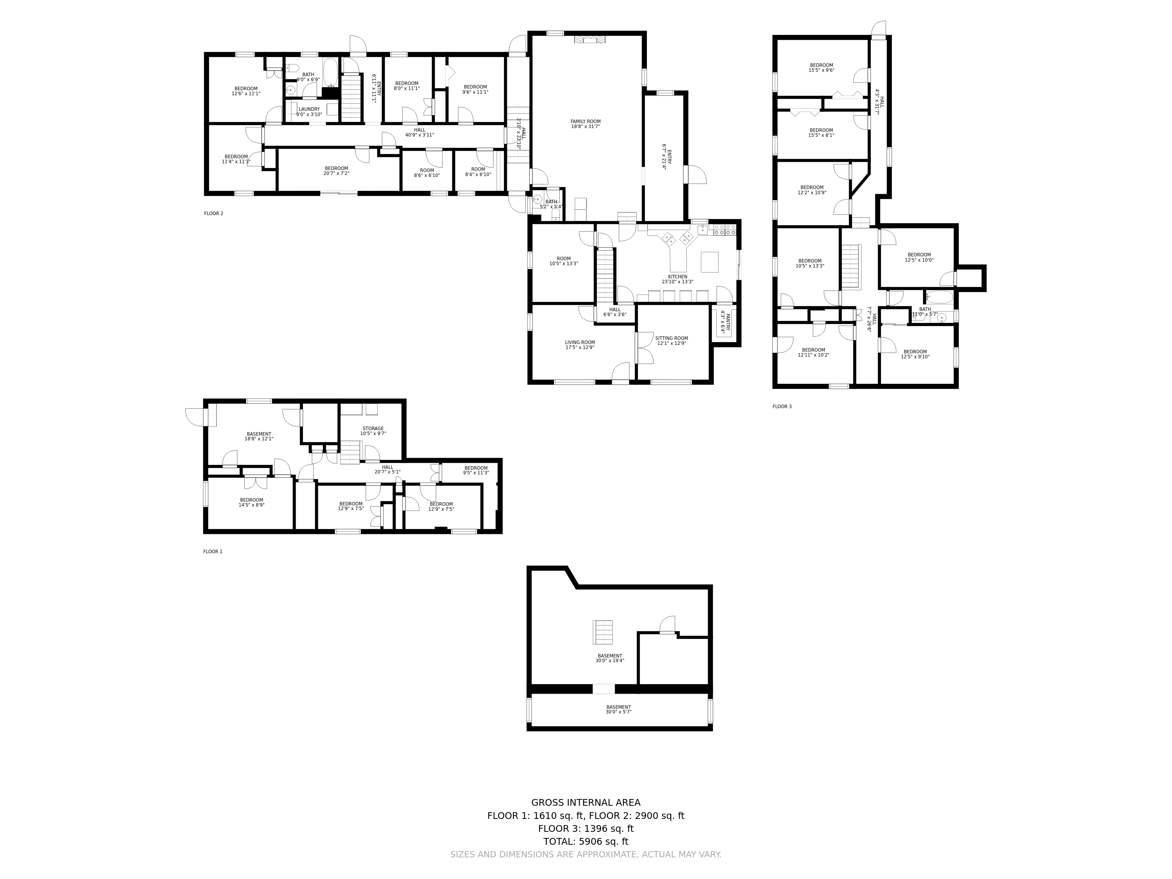 208 Newton Road floorplan