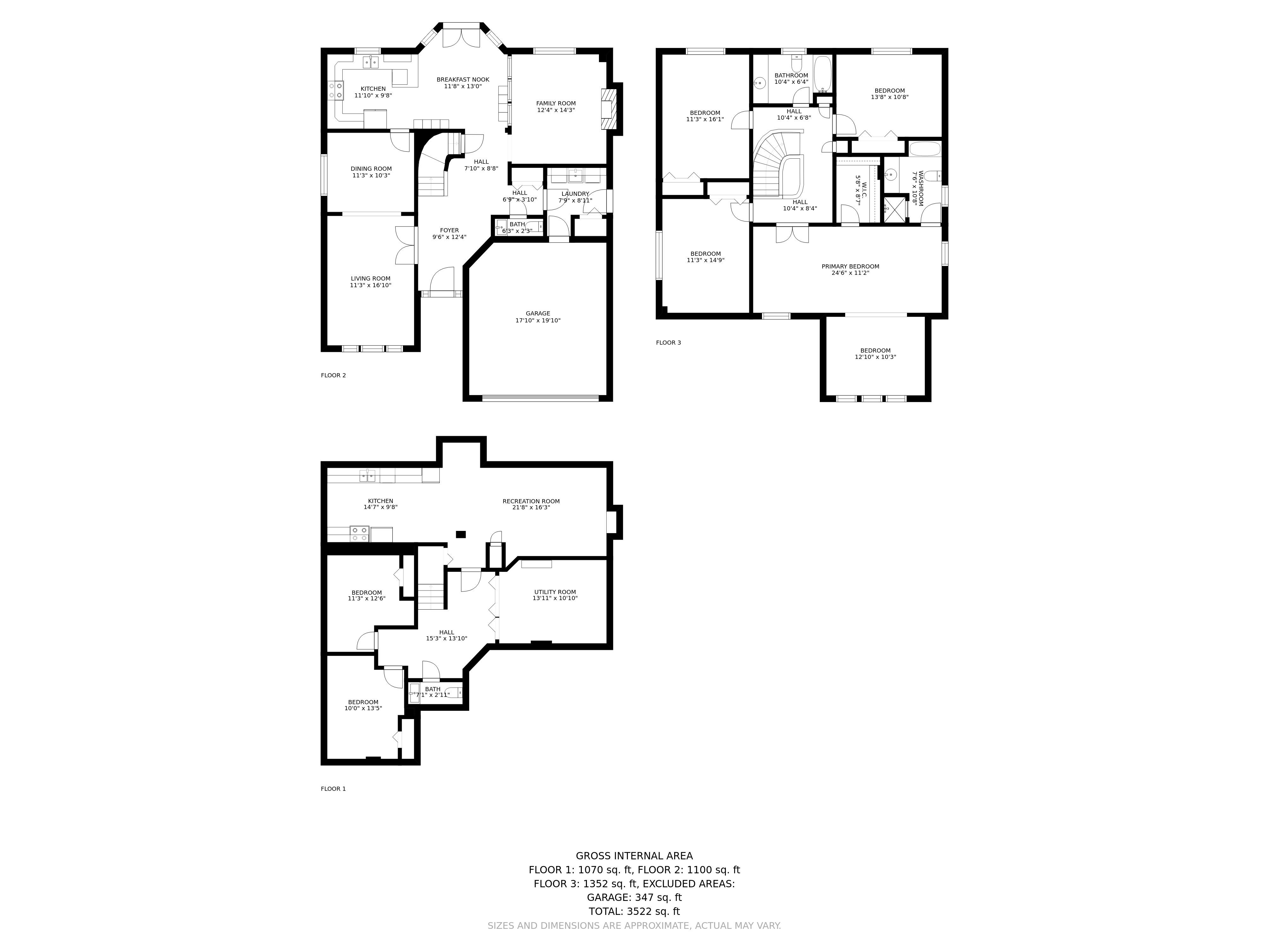 697 Carlisle Street floorplan